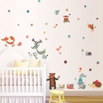 Sticker perete animalele pădurilor, câmpiilor