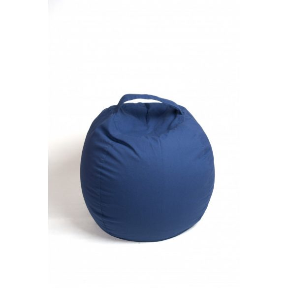 Fotoliu Bean Bag cu suport pentru pluș - Albastru - MINI
