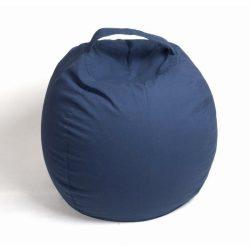 Fotoliu Bean Bag cu suport pentru pluș - Bleumarin - MAXI