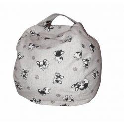 Fotoliu Bean Bag cu suport pentru pluș - Bulldog - NORMAL