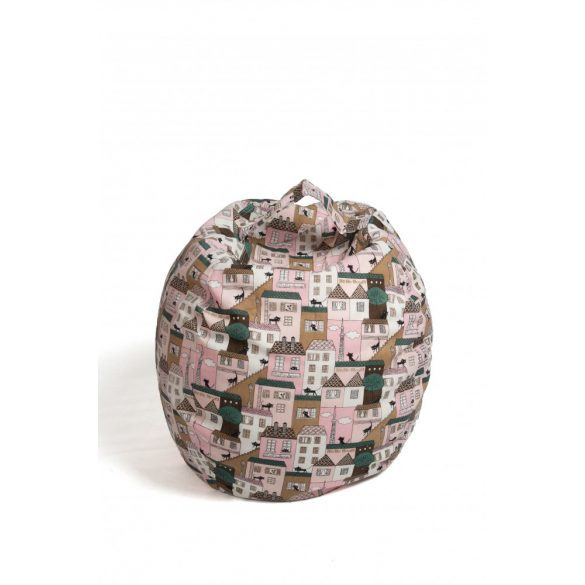 Fotoliu Bean Bag cu suport pentru pluș - Pisici - MINI