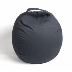 Fotoliu Bean Bag cu suport pentru pluș - Gri - MAXI