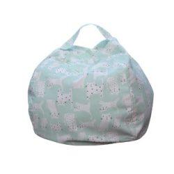 Fotoliu Bean Bag cu suport pentru pluș - Mentă - NORMAL