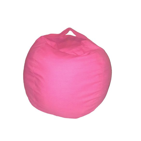 Fotoliu Bean Bag cu suport pentru pluș - Roz - NORMAL