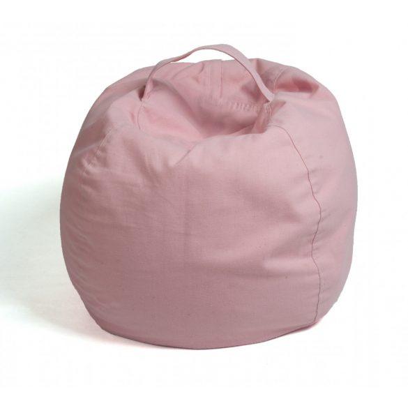 Fotoliu Bean Bag cu suport pentru pluș - Roz - MAXI