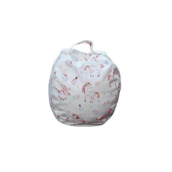 Fotoliu Bean Bag cu suport pentru pluș - Unicornis - MINI