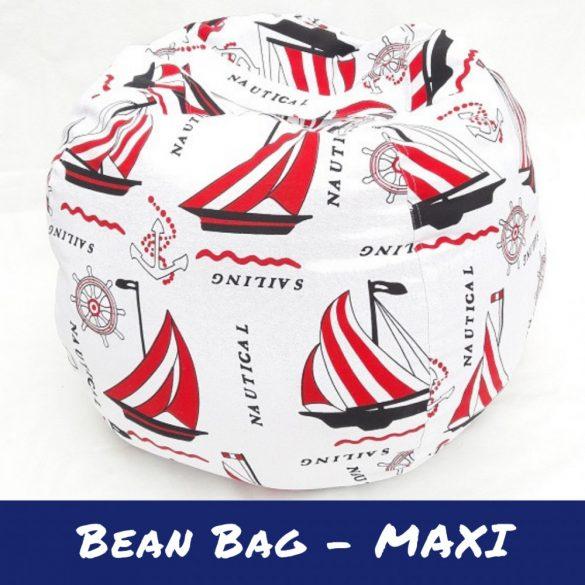Fotoliu Bean Bag cu suport pentru pluș - Vapori - MAXI