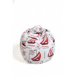 Fotoliu Bean Bag cu suport pentru pluș - Vapori - MINI