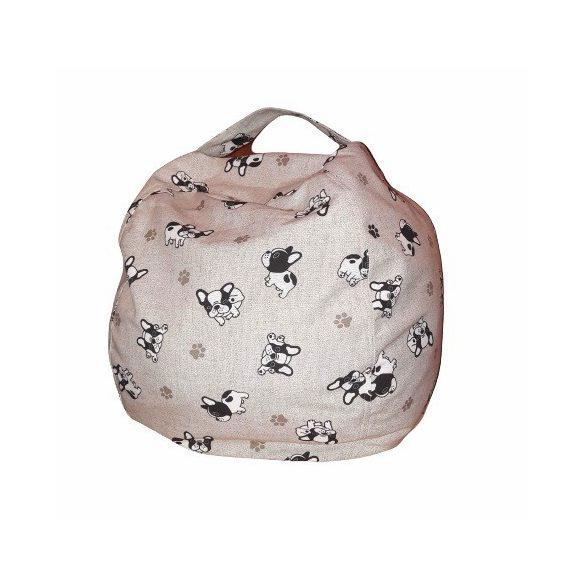 Fotoliu Bean Bag cu suport pentru pluș - Bulldog - MAXI