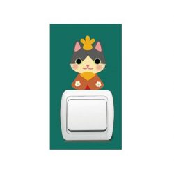 Pisicomania – sticker pentru întrerupător 1.