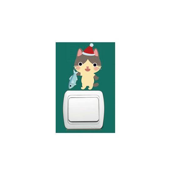 Pisicomania – sticker pentru întrerupător 12.