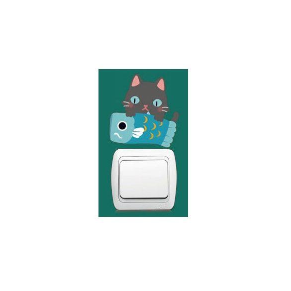 Pisicomania – sticker pentru întrerupător 3.