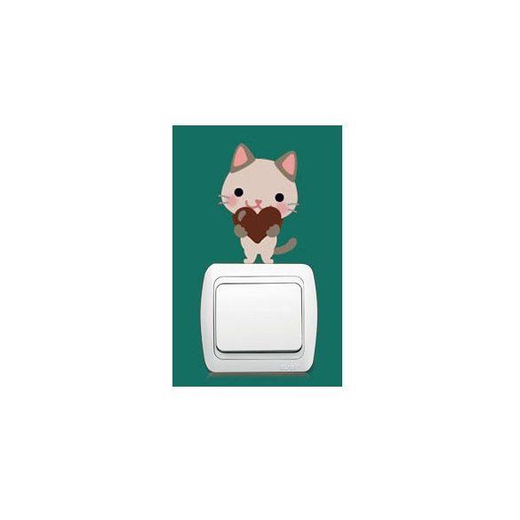 Pisicomania – sticker pentru întrerupător 5.
