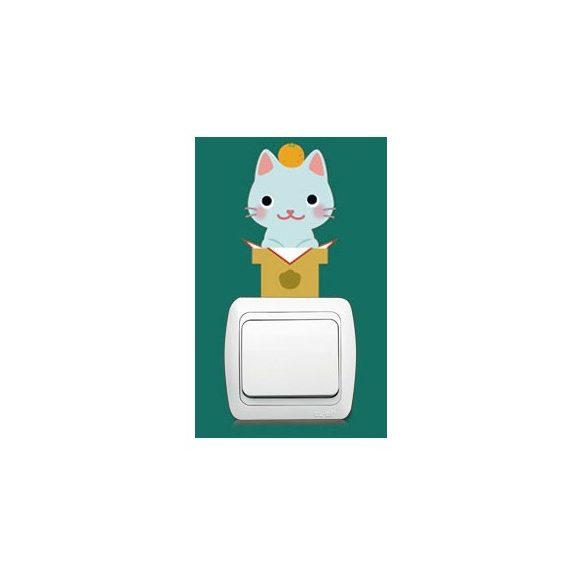 Pisicomania – sticker pentru întrerupător 6.