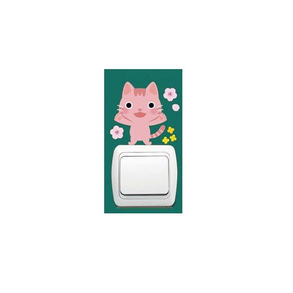 Pisicomania – sticker pentru întrerupător 7.