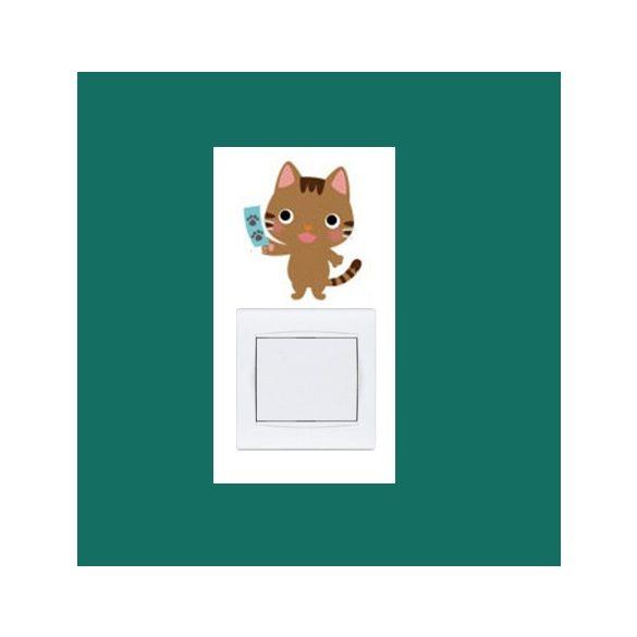 Pisicomania – sticker pentru întrerupător 9.