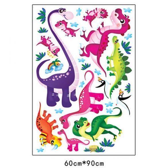 Sticker cu dinozauri
