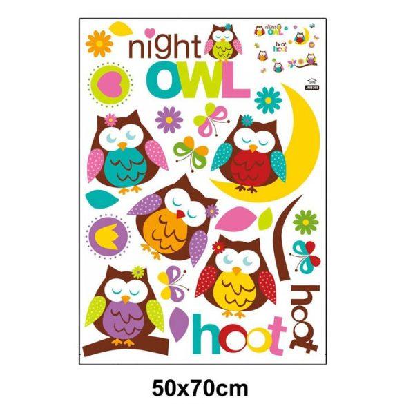 Sticker perete bufniţe de noapte