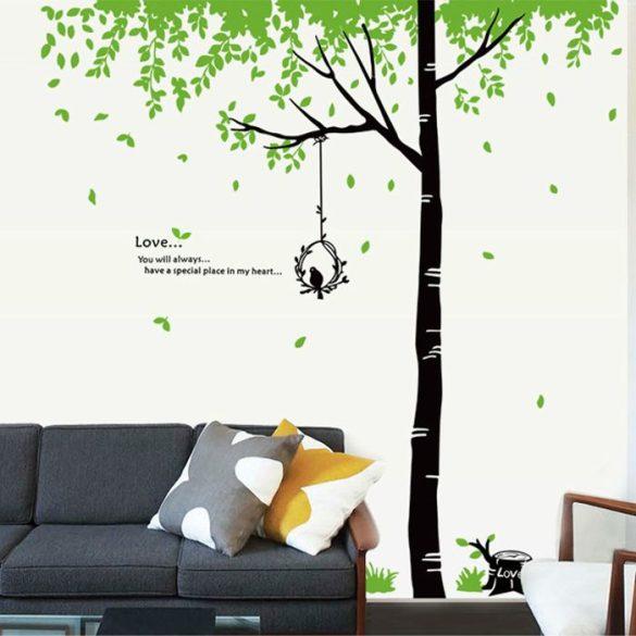 Sticker perete colţ de natură