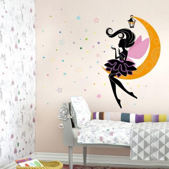 Sticker de perete zâna de lună