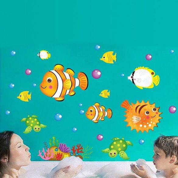 Sticker de perete cu recif de corali