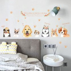 Sticker de perete câinii noștri