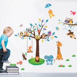 Sticker perete picnicul animalelor