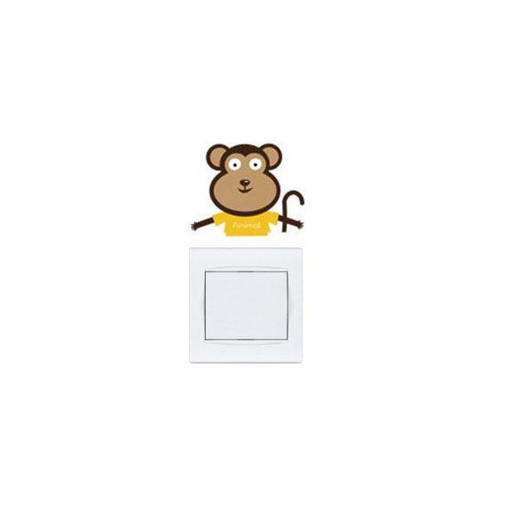 Pui micuți de animale – sticker de perete pentru întrerupător 1.