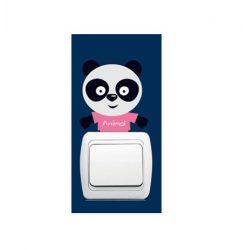 Pui micuți de animale – sticker de perete pentru întrerupător 10.
