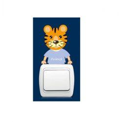 Pui micuți de animale – sticker de perete pentru întrerupător 11.