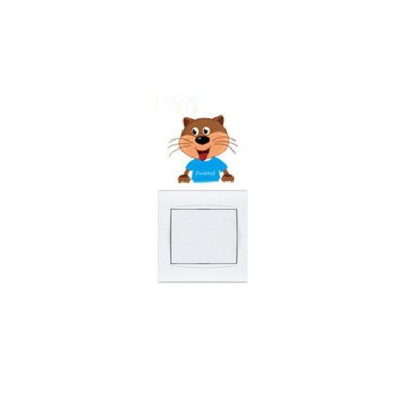 Pui micuți de animale – sticker de perete pentru întrerupător 7.