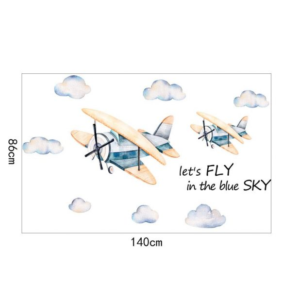 Sticker cu avioane