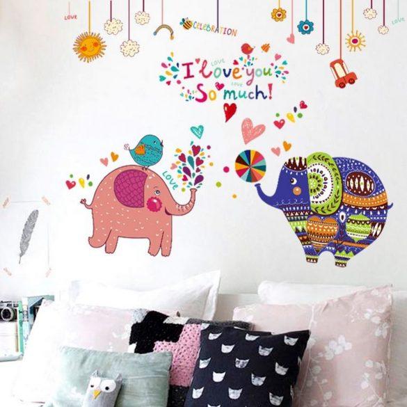 Elefanți colorate