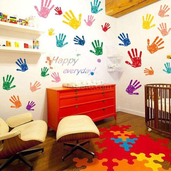 Palme colorate – sticker de perete