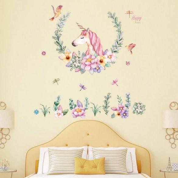Sticker de perete unicorn Vintage