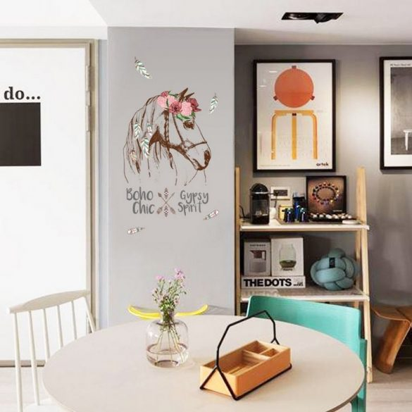 Sticker de perete vintage cal