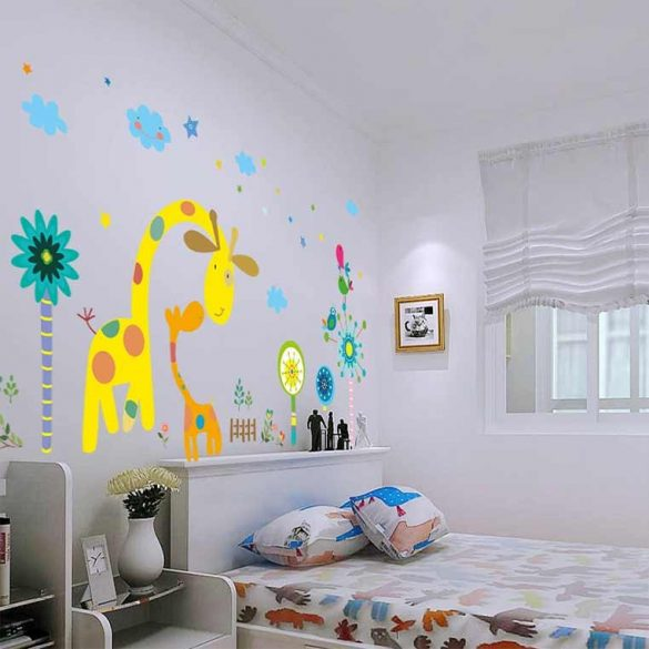 Sticker de perete grădina girafei